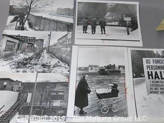 Large Format B + W photos of the aftermath of WW II in Europe