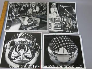 Large Format B + W photos of U.S. auto shows in the 1960's and 70's
