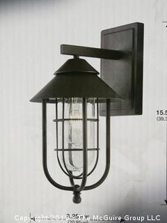 NIB Exterior Lantern