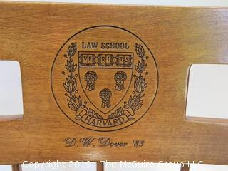 Harvard Law School Captains Chair