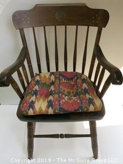 Bicentennial Captains Chair; marked S. Bent and Bros.