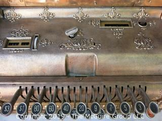 Vintage National Cash Register (missing register key only)