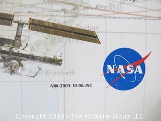 "40th Anniversary NASA Poster of Human Space Flight; 1963-2003; 20 x 40"""