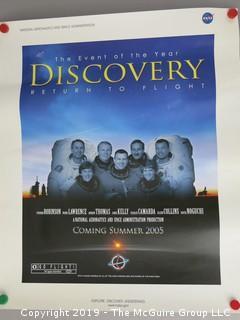 "2005 NASA Poster of ""Return to Flight"" Movie; 20 x 24"