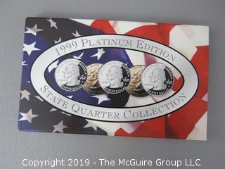 1999 Platinum Edition; State Quarters
