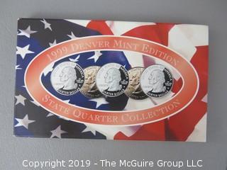 1999 Denver Mint Edition; State Quarters