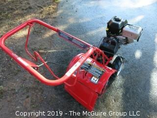 "Troy Built Tiller; Model ""Super Bronco CRT""; Briggs and Stratton 6.0HP OHV Engine; Counter Rotating Tines"