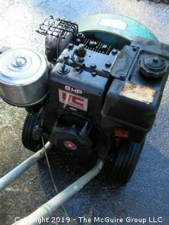 Lo-Blo: The Air Broom; Briggs and Stratton 8HP Engine; made by Atwater Strong