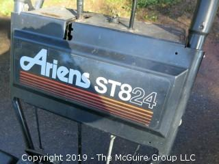 Ariens ST824 Snow Blower with Electric Ignition