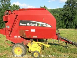 New Holland BR 740 Round Baler; P.I.N. # 65350