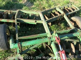 Double Action 10' Wide Disc Harrow  (CAN BE LOCKED IN UP POSITION FOR TRAVEL ON ROAD)