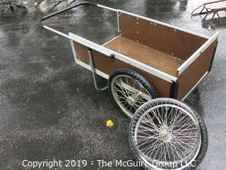 Large Wheel Garden Cart with extra rim and tire