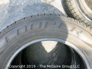 Set of (2) Cooper CS-4 Touring Tires; 225/60R16