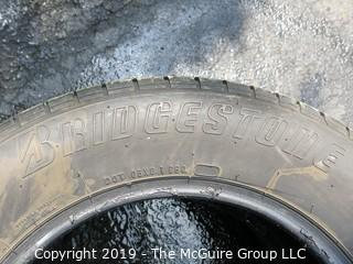 "Set of (2)  Bridgestone ""Potenza"" Tires; 225/60R16"