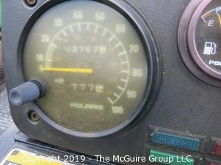 1998 Polaris Indy Trail Classic Snowmobile; needs repair