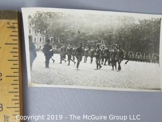 Collection of various military photos incl. WW I Photos including General Pershing; c 1919