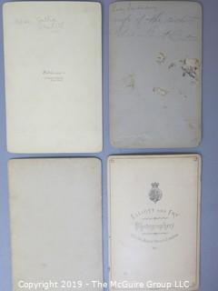 Collection of Carte de Vistes (CDV's)