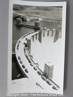 Collection of B&W photos including U.S. hydro energy projects
