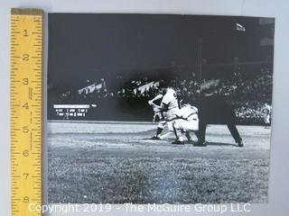 "8 x 10"" B&W Photo of Roger Maris playing at Memorial Stadium, Baltimore; taken by iconic sports photographer Arthur Rickerby"