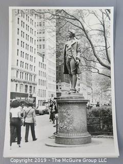 Collection of Large Format B&W photos of New York City circa 1960's and 70's