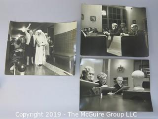 Collection of Large Format B&W Photos inside Carmelite Sisterhood Home taken by Arthur Rickerby