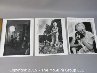 Collection of Large Format B&W photos from Florida Nursing Home, circa 1970's