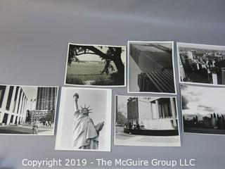 Collection of Large Format B&W photos of New York City Streets, circa 1960's
