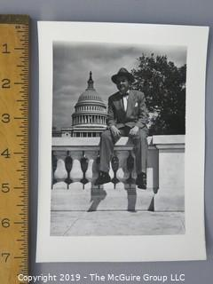 "5 x 7"" photo of renowned Washington Journalist Joseph Alsop"