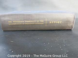 Book Title:  The Warren Report