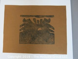 "Inuit Art on Paperl 8 1/2 x 11""; unsigned"