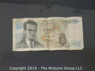 Currency Notes: Dominion of Canada and Belgium