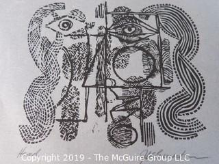 """Inuit Art on Paper; 8 1/2 x 11""""; titled and signed"""