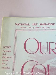 National Art Co. Subscription Magazine; 1894