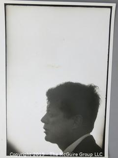 11 x 14 B&W Photo of President John F. Kennedy; photo by Arthur Rickerby