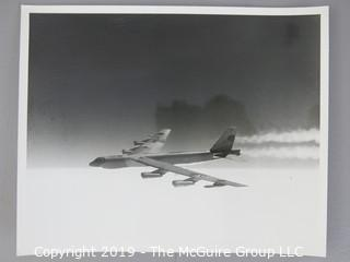 "Collection of 8 x 10"" B&W Photos of U.S. Military Aircraft including the B-52"
