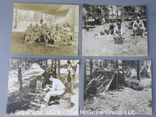 "Collection of 8 x 10"" U.S. Military Training Photos from the 1940's"