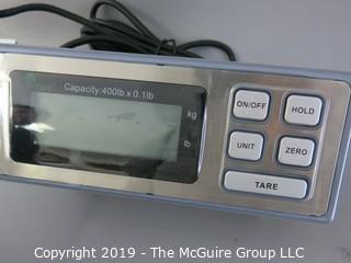 NIB Digital Scale; Capacity 400 pounds