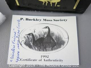 1992 NIB P. Buckley Moss Brooch
