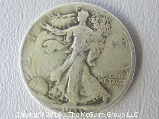 1935 Walking Liberty Silver Half-Dollar