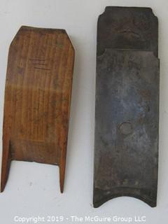 """Molding Plane, marked """"III""""; steel marked Hancock Tool Co. ;"""