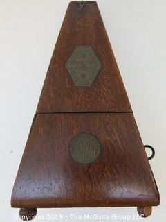 Vintage Metronome de Maelzel by E. Pillard made in Switzerland