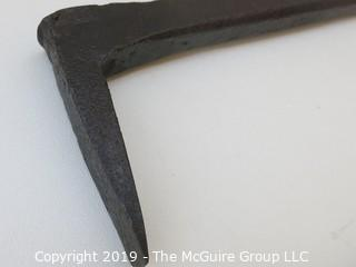 Hand Forged Iron Wood Splitter