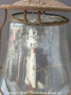 "Kerosene Lantern; marked ""Dirtz: Pritzall, KY USA"""