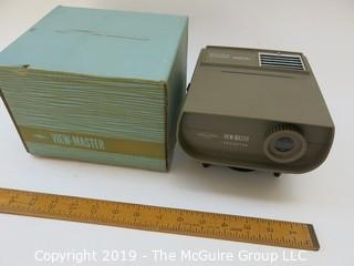 Electric View Master Projector, working, with original box