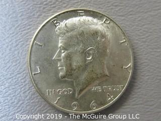 1964 JFK Silver Half-Dollar
