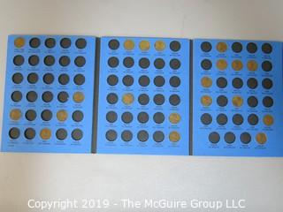 Whitman Folder: Lincoln Cents, 1909 -1940; includes 1909 VDB
