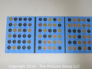 Whitman Folder: Lincoln Cents, 1941-74
