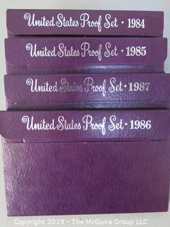 NIB; U.S. Proof Sets; 1984-1987