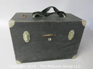 1920's Physician's Ocular Microscope with Original Case; marked W. & W. Seibert; Germany