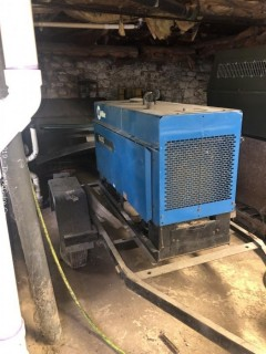 Miller Big 20G Commercial Welder, with trailer (needs battery according to consignor)